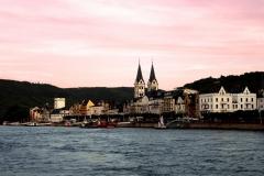 Rhein in Flammen Koblenz - Abenddämmerung